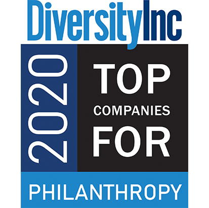 diversity Inc top companies for philanthropy 2020